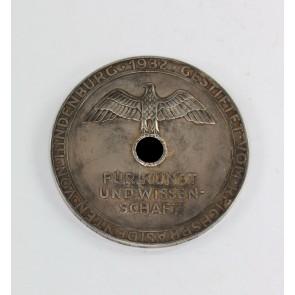 Goethe Medaille für Kunst und Wissenschaft, Gestiftet vom Reichspräsidenten von Hindenburg 1932