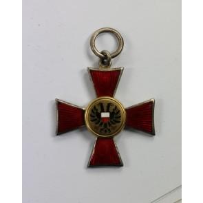 """Hanseatenkreuz Lübeck, """"Für Verdienste im Kriege 1914"""""""