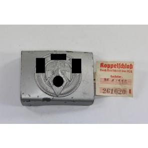 Hitler Jugend (H.J.), Koppelschloß, Hst. RZM M5/276, mit RZM Etikette