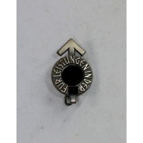 Hitlerjugen (HJ), 16 MM Miniatur Leistungsabzeichen in Silber, Hst. RZM M1/63