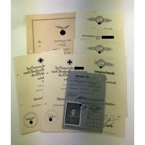 Urkunden Gruppe Fernaufklärer