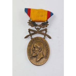 Rumänien, Medaille für Mannhaftigkeit und Treue in Bronze