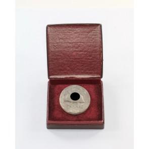 Verwundetenabzeichen in Silber, Hst. 107, im Etui