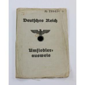 """Deutsches Reich, """"Aussiedler Ausweis"""""""