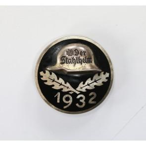 Stahlhelmbund - Eintrittsabzeichen 1932, Silber