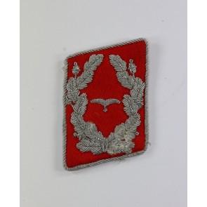 Luftwaffe, Kragenspiegel für einen Major der Flakartillerie
