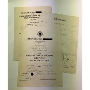 Urkunden Gruppe, Panzerjäger