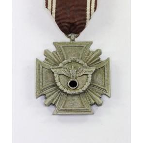 NSDAP Dienstauszeichnung in Bronze (10 Jahre), massiv