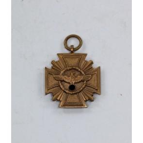 16-MM NSDAP Dienstauszeichnung in Bronze, Hst. M12/9