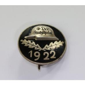 Stahlhelmbund - Eintrittsabzeichen 1922