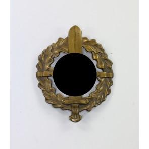 SA-Wehrabzeichen in Bronze, Hst. Fechler