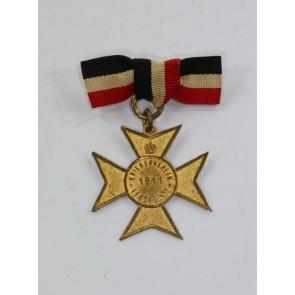 Abzeichen, Kriegerverein Leuderode 1911