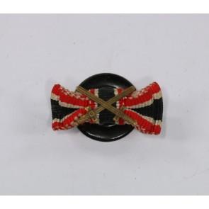 Knopflochdekoration Kriegsverdienstkreuz 2. Klasse mit Schwertern