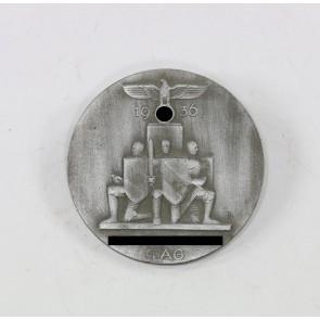 """Abzeichen, """"Reichsparteitag 1936"""", Hst. Brehmer"""