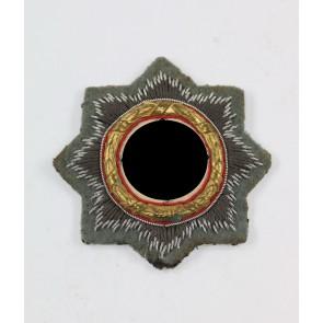 Deutsches Kreuz in Gold auf Heeresstoff, Hst. HS