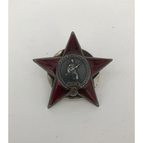 Sowjetunion, Orden des Roten Sterns mit Archiv Material