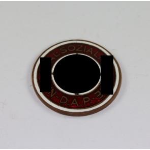 Auflage für das Goldene Parteiabzeichen, Deschler (30 mm)