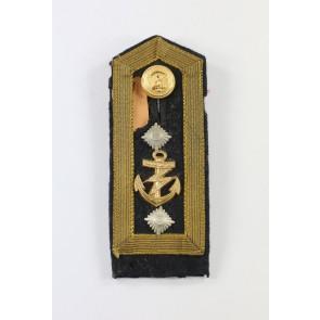 Kriegsmarine, Schulterklappe Oberbootsmann (Funk)