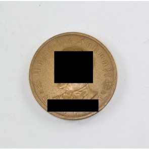 """Medaille, """"Adolf Hitler Unser die Zukunft"""", Bayrisches Hauptmünzamt"""