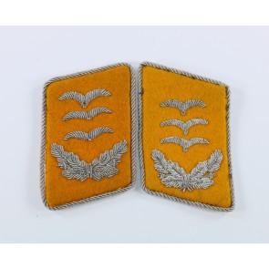Luftwaffe, Paar Kragenspiegel, Hauptmann fliegendes Personal
