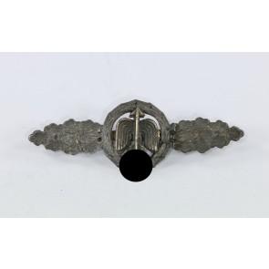 Frontflugspange für Jäger in Bronze