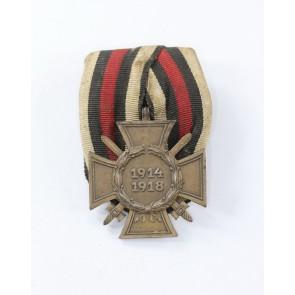 Ehrenkreuz für Frontkämpfer, Hst. G&S an Einzelspange