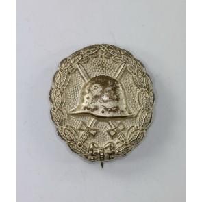 Verwundetenabzeichen in Silber 1918, Buntmetall