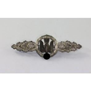 Frontflugspange für Kampfflieger in Silber