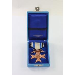 Bayern, Militär Verdienstkreuz 3. Klasse mit Schwertern, im Etui Deschler