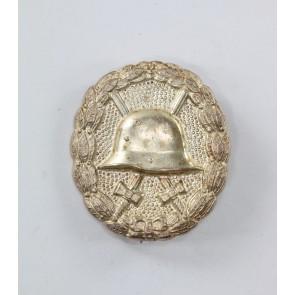 Verwundetenabzeichen in Silber, 1918, Buntmetall