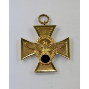 Polizei-Dienstauszeichnung in Gold (25 Jahre)