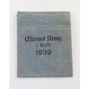 Verleihungstüte Eisernes Kreuz 2. Klasse 1939, Klein & Quenzer