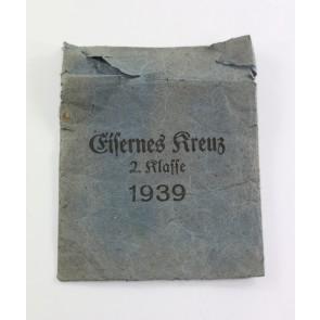 Verleihungstüte Eisernes Kreuz 2. Klasse 1939, Julius Maurer