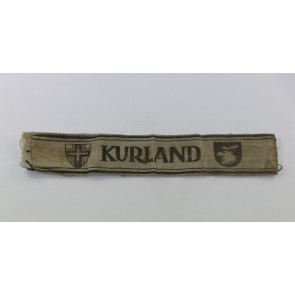 "Ärmelband ""Kurland"", Variante auf Gasplane (!)"