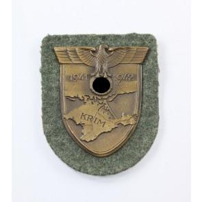 Krimschild auf Heeresstoff, Deumer Typ 1
