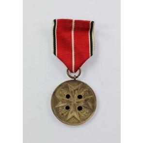 Deutsche Verdienstmedaille 1937 in Bronze, Hst. 30