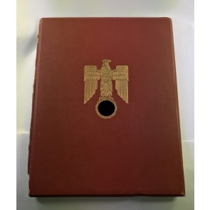 Ritterkreuz Mappe, Oberwachtmeister Karl Banze, Sturmgeschütz (!)