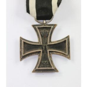 Eisernes Kreuz 2. Klasse 1914, Hst. LV 24 (!)