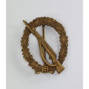 Infanterie-Sturmabzeichen Bronze, Ausführung 1957, Steinhauer & Lück