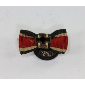Knopflochdekoration Eisernes Kreuz 2. Klasse 1939