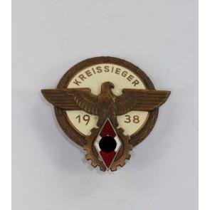 Kreissieger im Reichsberufswettkampf 1938, Hst. G. Brehmer Markneukirchen