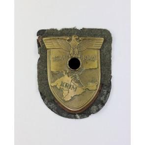 Krimschild auf Heeresstoff, Typ 3.5 A