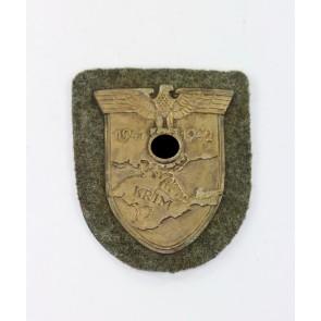 Krimschild auf Heeresstoff, Typ 3.06