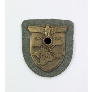 Krimschild auf Heeresstoff, Typ 3.7