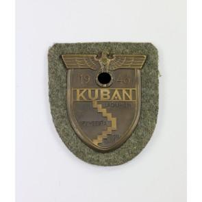Kubanschild auf Heeresstoff, Karl Wurster