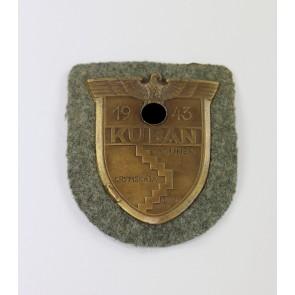 Kubanschild auf Heeresstoff, Typ 5.7
