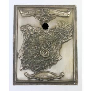 Legion Condor, Erinnerungsplakette der 5.Flakabteilung 88 - Otto B. Löbig Cartagena