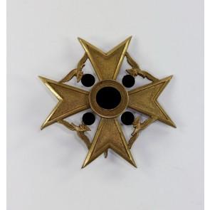Spanienkreuz in Bronze, Hst. Paul Meybauer (Wappen)