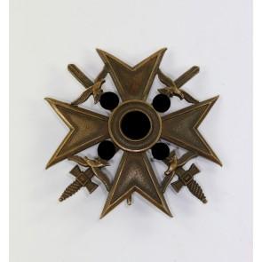 Spanienkreuz in Bronze mit Schwerterm, Hst. FR Sedlatzek Berlin S.W. 68