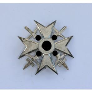 Legion Condor, Spanienkreuz in Silber mit Schwertern, 835 Wilhelm Deumer
